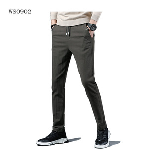 WS0902 Men casual pant / spandex trousers men