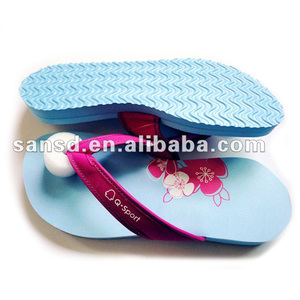 Lady eva leather slippers