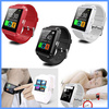 2015 china manufacturer Android Dual Sim Wifi U8 Smart Watch U8 Bluetooth Watch Touch Screen TFT LCD