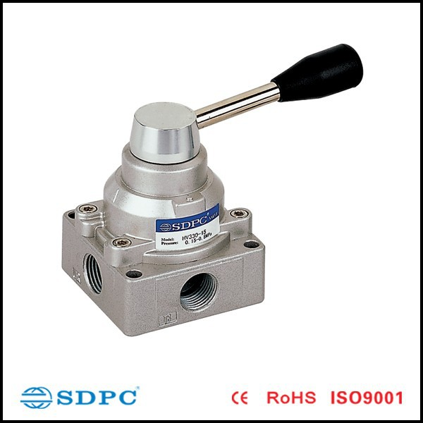 Hand switch valve, pneumatic control valves 4 way