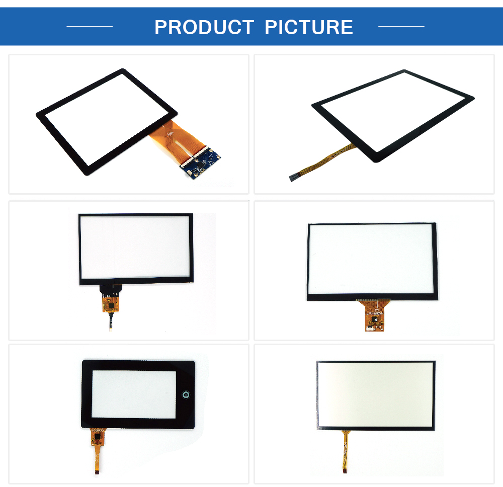 Multi-touch 10.4 인치 G + G 방식 Capacitive Touch Screen Panel