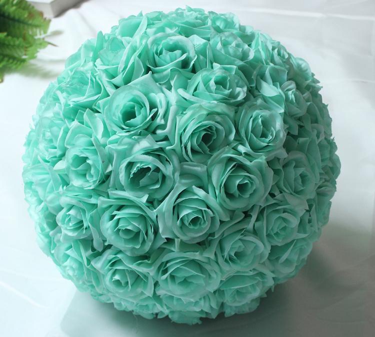 "Mint Wedding Flowers: Aliexpress.com : Buy 6""(15cm)Tiffany Blue Hanging Flower"