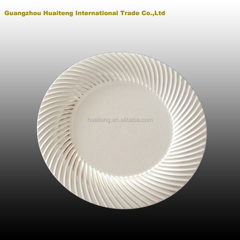 Clear Plastic Charger Party/wedding Plates Wholesale - Buy Plastic ...