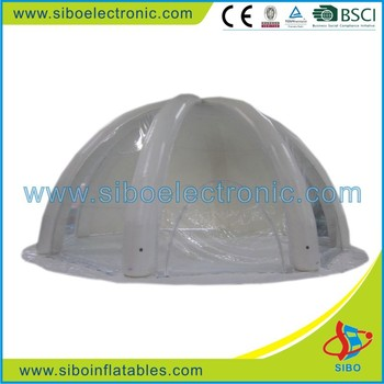 GMIF6612 SiBo High Quality Inflatable Clear Dome Tent With CE Certificate On Sale