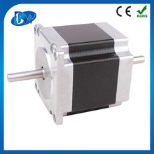 2 phase high quality hybrid nema 23 stepper motor two shaft