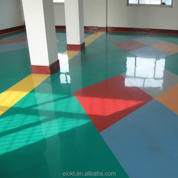 Non Solvent Epoxy Self Leveling Flooring Paint Waterproof Coating