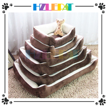 New Design Functional Nature Wooden Pet house Chair soft cat bed