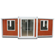 Expandable luxury pack Australian Standard container house as a site office/single studio/small homes