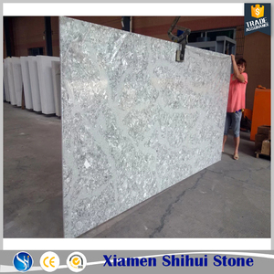 Various starlight sparkle white quartz countertop