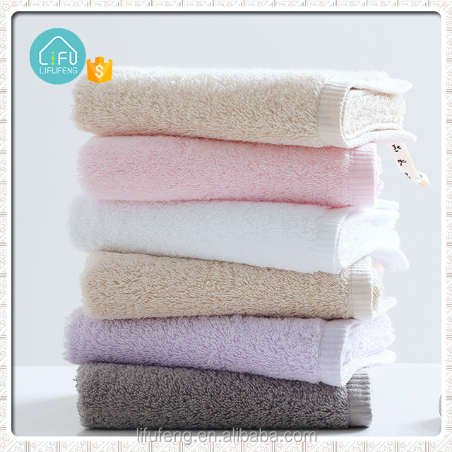 Good quality cheap disposable custom size microfibre small face towel with cleaning