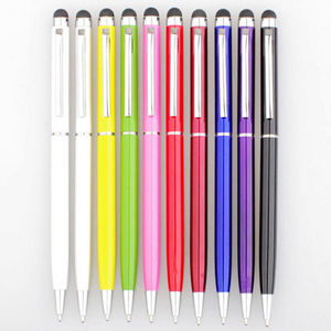 lot Stylus Capacitive Touch Pen Touch Ball Point Pen Stationery Office Pen AM741