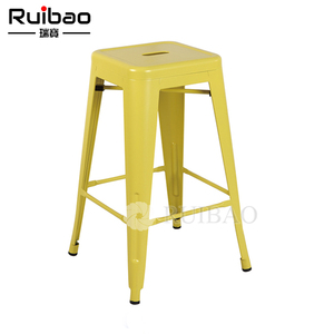Wholesale Industrial Stackable Metal Used Outdoor Bar Stools