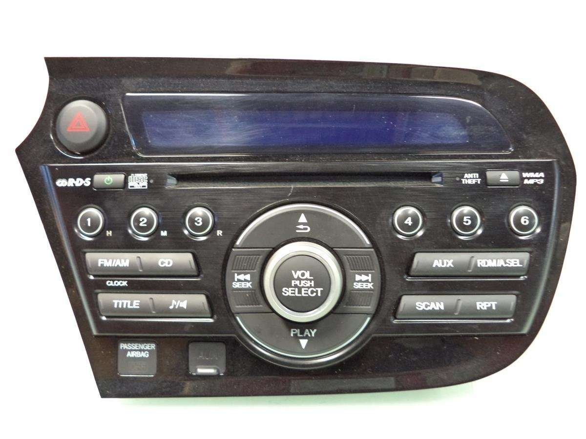 Get Quotations · 2010 2011 Honda Insight CVT Radio AM FM CD player  39100-TM8-305ZA