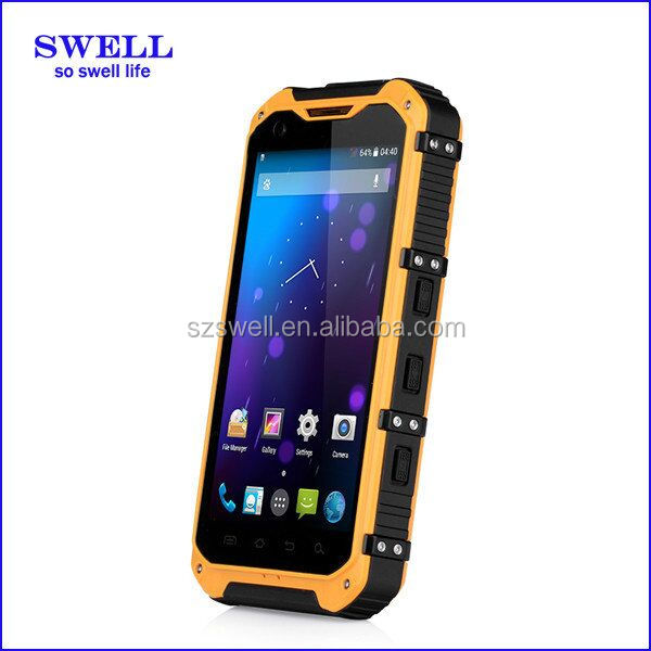 Bar Design and IPS Display Type rugged mobile phone big promotional land rover alps a9