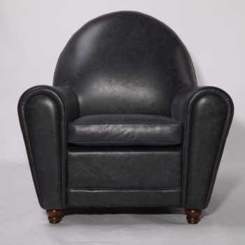 100% Cow Leather Upholstery Poltrona Frau Vanity Fair Lounge Chair ...
