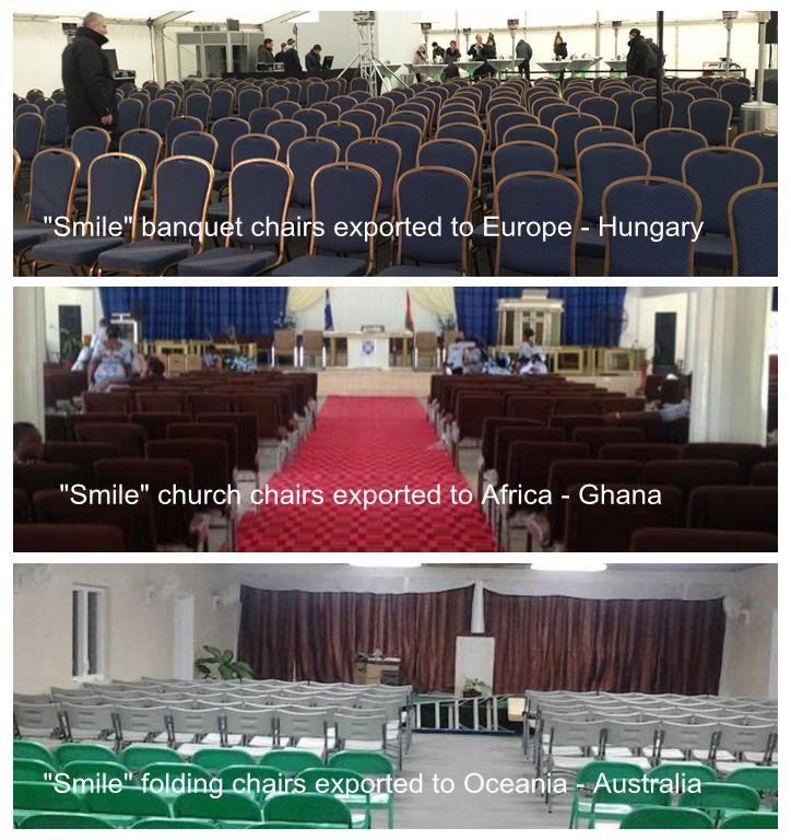 wholesale padded cheap church chairs for church