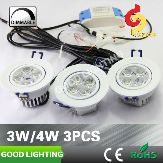 New LED spotlights Goodlighitng 3*3w LED ceiling fixture with CE ROHS certificates