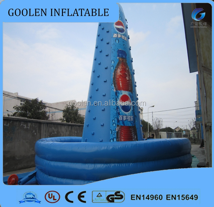 Outdoor inflatable roke climbing sports games