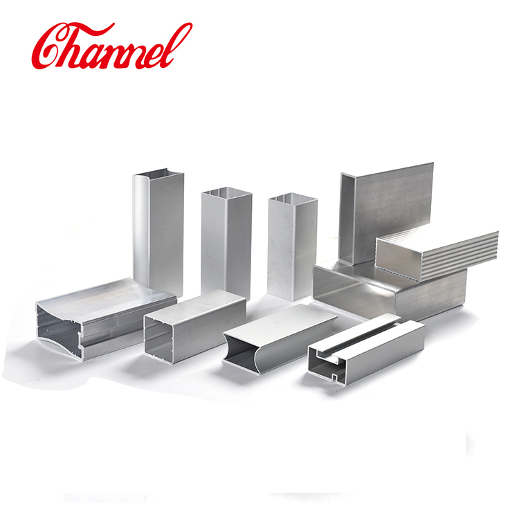 6063-T5 Aluminium Alloy Profiles Aluminum Tube Rectangular Aluminum Alloy Tube
