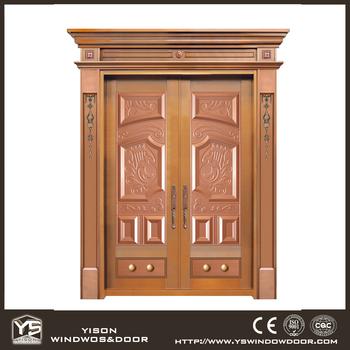 Unique Home Designs Copper Security Door Iron Main Gate Designs