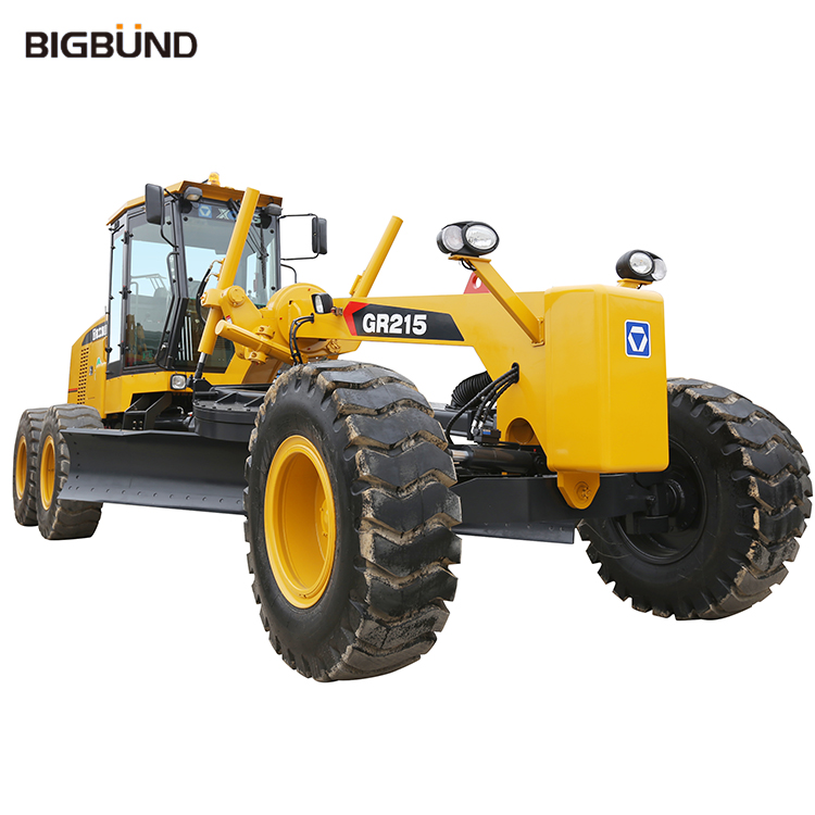 GR215 Wholesale Bigbund 215 Hp Official Manufacturer China Motor Grader for Sale