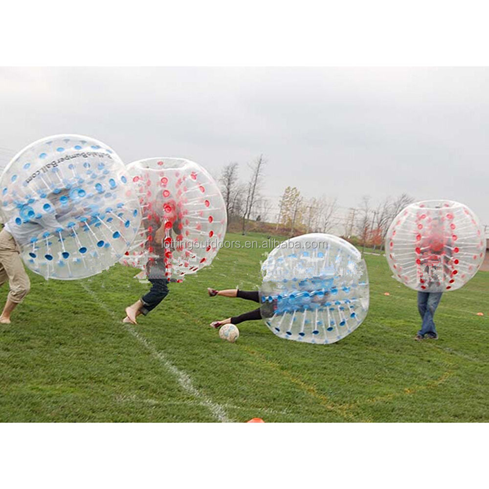 2017 lastest inflatable ball suit, football inflatable body zorb ball, roll inside inflatable ball