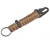 Best Quality Outdoor Gear Firestarter 550 Paracord Carabiner Survival Keychain