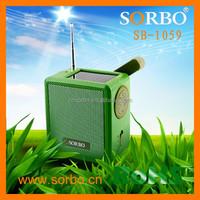 Solar Dynamo AM FM Radio with Headphone