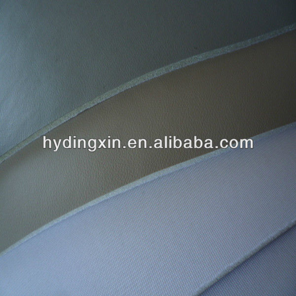 PVC leather with foam for bus seat