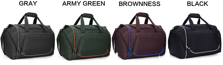 Portable Light Weight Sport Duffel Bag With Internal Zippered Pocket  Foldable Sport Bag tarpaulin two compartment aeb913b891c0