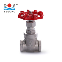 High quality stainless steel screwed gate valve