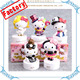 Custom Made Factory Anniversary Small Figurine PVC Hello Kitty Figurine