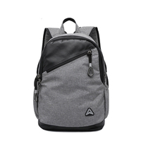 "spring new school bag,19"" oxford laptop computer backpack"