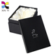Customized printing waterproof cardboard wax coated luxury scarf packaging paper box with lid