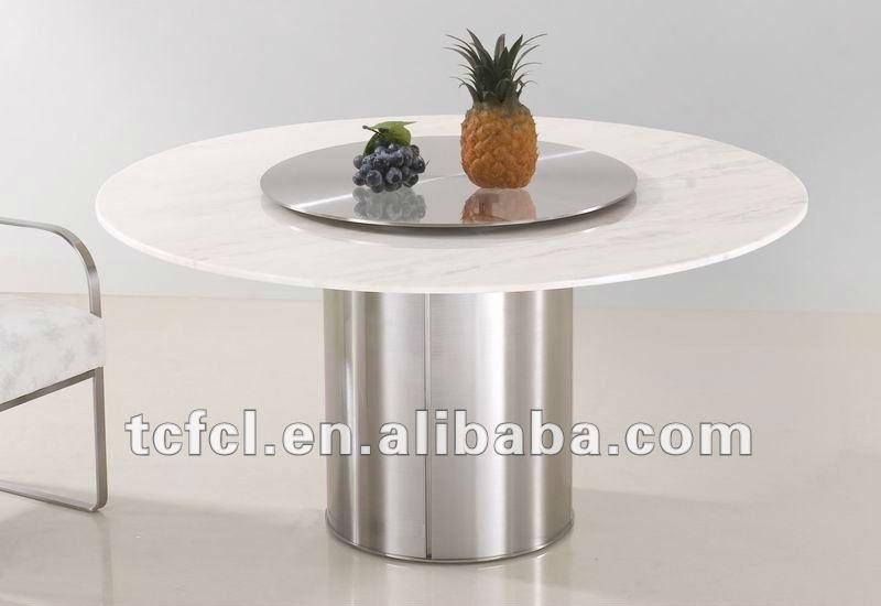 runde weiße marmorplatte esstisch, granit esstisch oben-esstisch, Esstisch ideennn