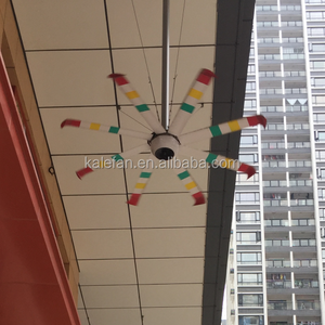 10ft Big Wind Silent Brushless DC HVLS Ceiling Fan for Malls