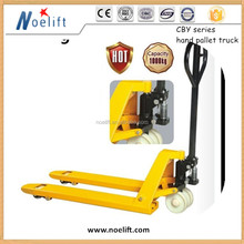 CE certificate hand pallet truck for Europe Market good quality 2.5 ton feeler forklift