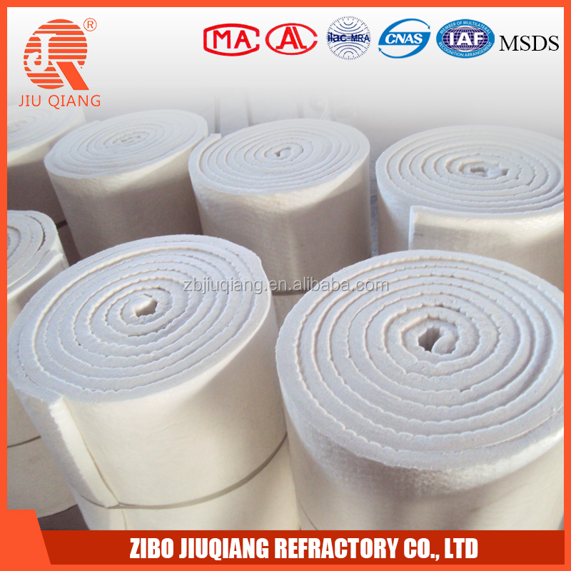 1350c ceramic fiber wool lining blankets for furnace and kilns for ovens