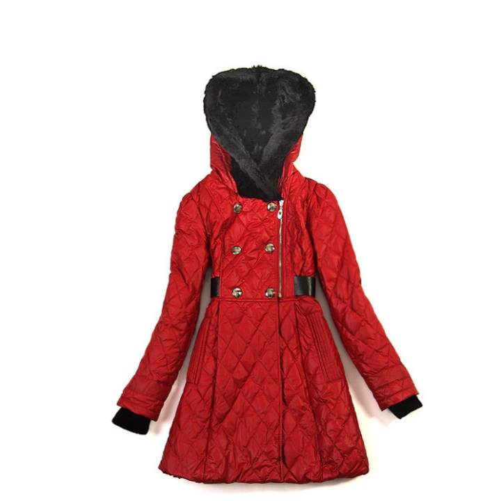 2016 Wholesale Fashion Women Wool Whole Skin Fur Coat For Girl