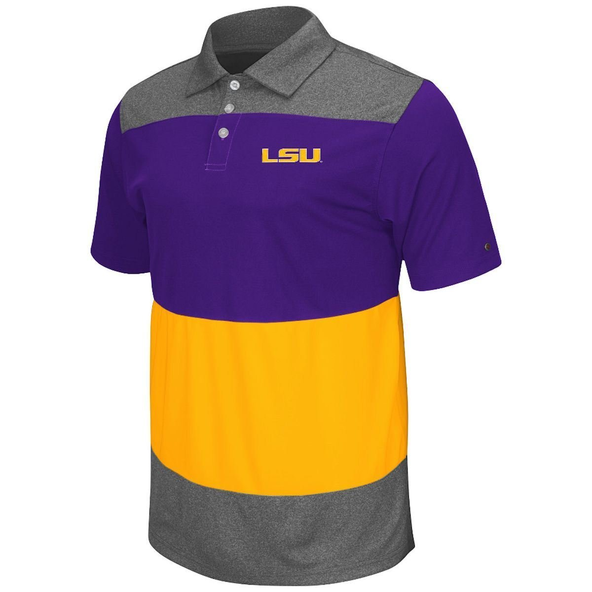 Get Quotations · LSU Tigers Playbook Mens Purple Polo Shirt bd3d5cb8f12