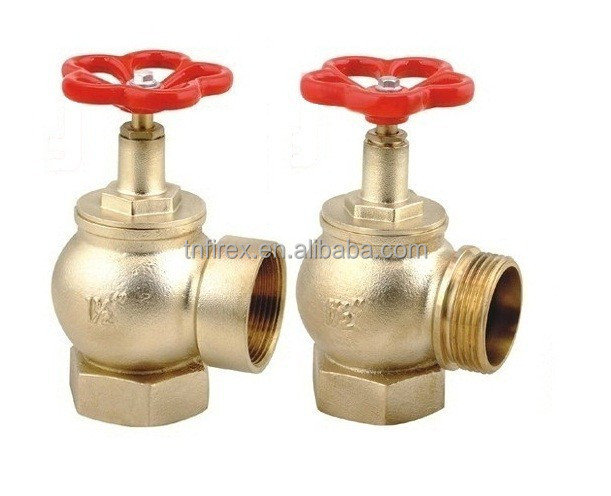 Straight type fire hydrant, fire hydrant landing valve