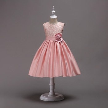Baby Girls Birthday Dresses Kids Party Wear Wedding Dresses Frock ...