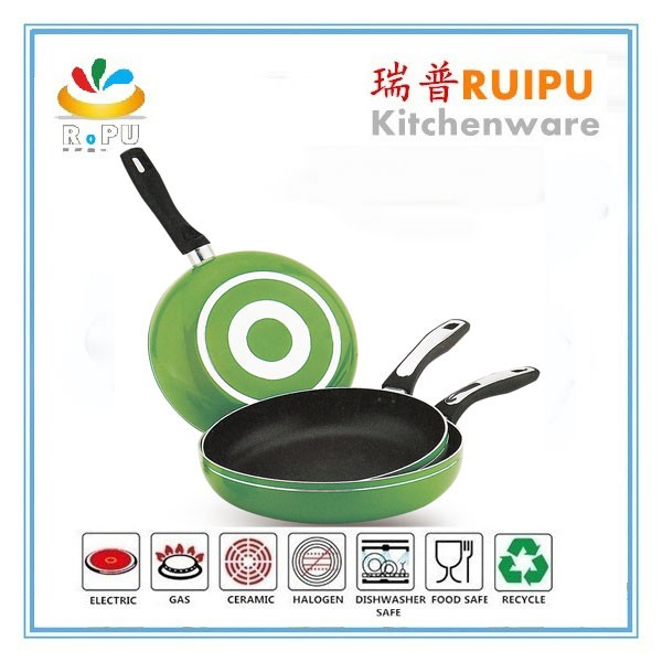 Aluminum Nonstick(3-Piece 8 Inches, 9.5 Inches, 11 Inches) kitchenwares discovery non-stick 3pcs stone fry pan set