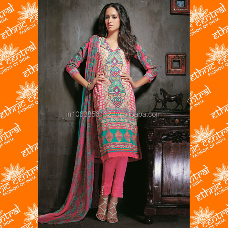 589fa7224a ETHNIC CENTRAL's indian cotton printed dress materials salwar kameez suits  with latest designs at wholesale price in delhi india