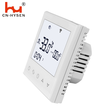 7 days programmable heating controller touch screen  thermostat for electric floor heating