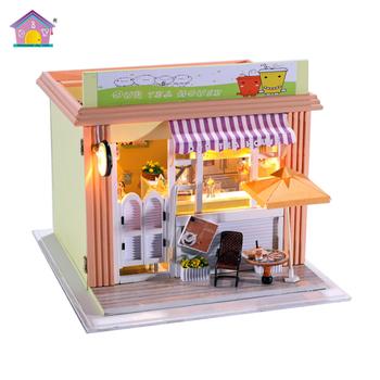 Buy Madera Té Precio juguetes Diy Para Casa Niños Miniatura Modelo De Fábrica Madera oCxrtshQdB
