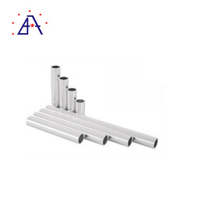High Quality Extruded Tubes Rectangular Aluminium Profile Supplier