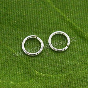Wholesale fantasy jewelry accessory 925 sterling silver jump ring for jewelry making
