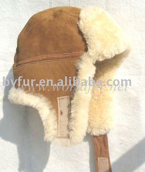 ea3efe07a5f By-sp001 Shearling Sheepskin Trapper Hat - Buy Shearling ...