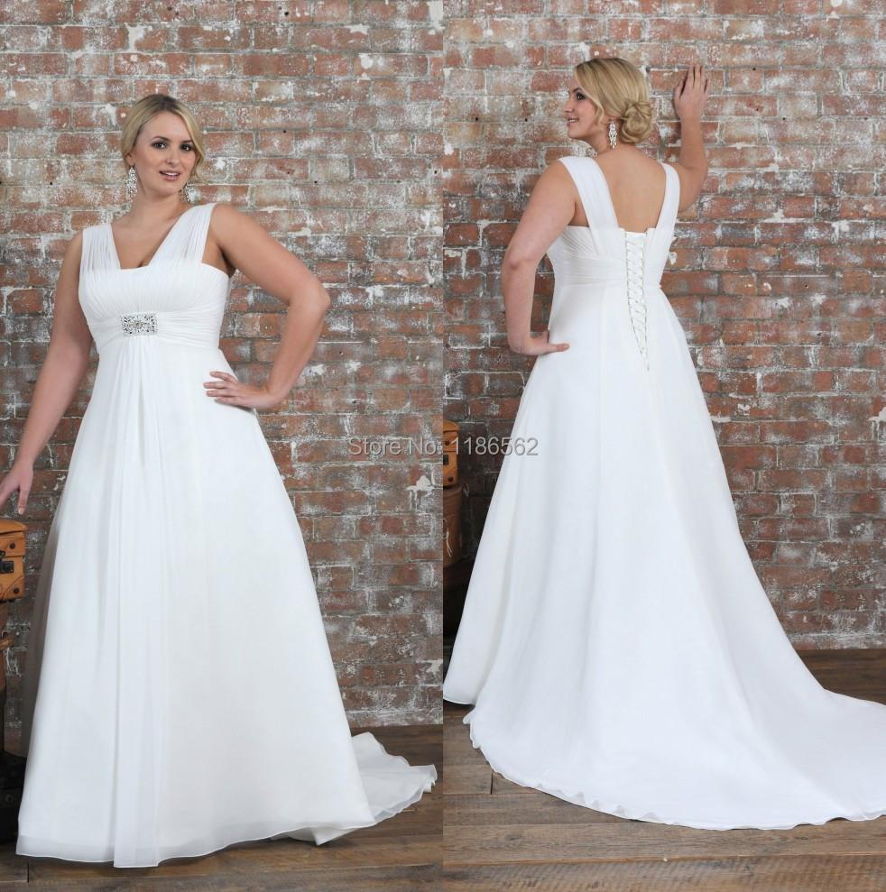 Halter Top Plus Size Wedding Dresses